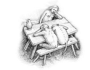 La paresse - Détail 1